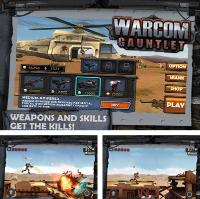 In addition to the game Mechanic escape for iPhone, iPad or iPod, you can also download WarCom: Gauntlet for free.