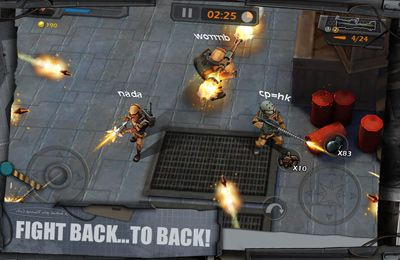 Descarga gratuita de WarCom: Shootout para iPhone, iPad y iPod.