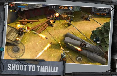 Игра WarCom: Shootout для iPhone
