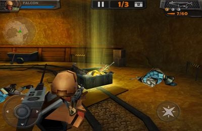 Screenshots of the WarCorps: Genesis game for iPhone, iPad or iPod.