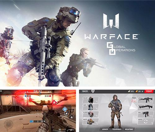 In addition to the game Bugs vs. aliens for iPhone, iPad or iPod, you can also download Warface: Global operations for free.