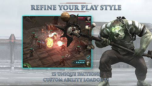 Download Warhammer 40000: Regicide iPhone free game.