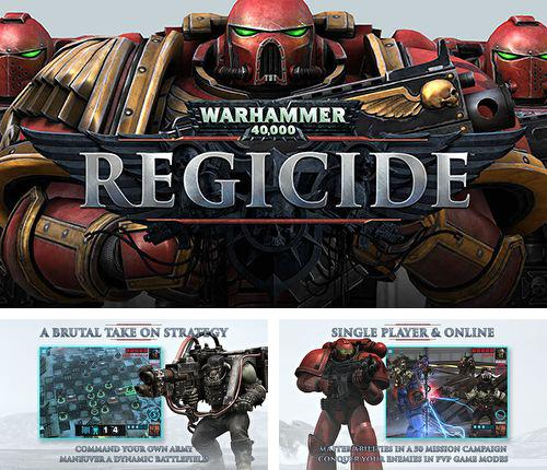In addition to the game Galactic keep for iPhone, iPad or iPod, you can also download Warhammer 40000: Regicide for free.