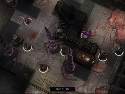 Screenshots of the Warhammer 40 000: Deathwatch. Tyranid invasion game for iPhone, iPad or iPod.