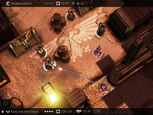 Écrans du jeu Warhammer 40 000: Deathwatch. Tyranid invasion pour iPhone, iPad ou iPod.