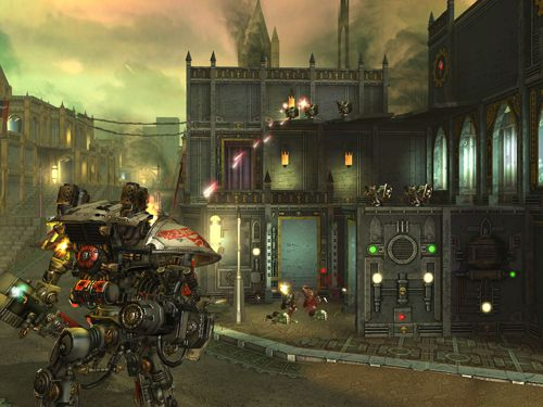 Screenshots of the Warhammer 40 000: Freeblade game for iPhone, iPad or iPod.