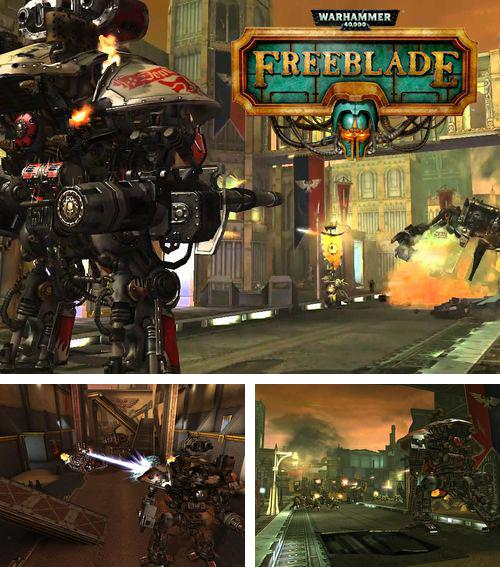 In addition to the game Zombie battle for iPhone, iPad or iPod, you can also download Warhammer 40 000: Freeblade for free.