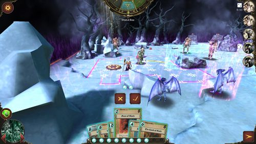 Capturas de pantalla del juego Warhammer: Arcane magic para iPhone, iPad o iPod.