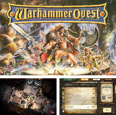 In addition to the game Lost journey for iPhone, iPad or iPod, you can also download Warhammer Quest for free.