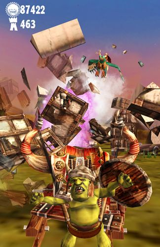 Free Warhammer: Snotling fling download for iPhone, iPad and iPod.