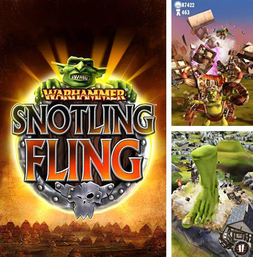 In addition to the game Go to gold 2 for iPhone, iPad or iPod, you can also download Warhammer: Snotling fling for free.