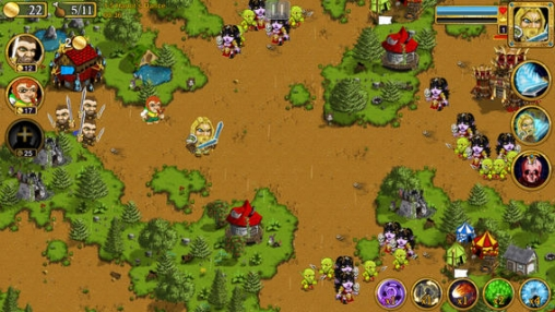 Capturas de pantalla del juego Warlords para iPhone, iPad o iPod.