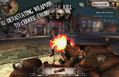 Capturas de pantalla del juego Warm Gun para iPhone, iPad o iPod.