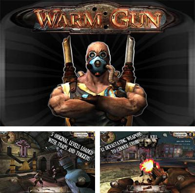 In addition to the game AZMK  – Alien Zombie Mutant Killer HD for iPhone, iPad or iPod, you can also download Warm Gun for free.