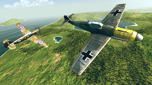 Free Warplanes: WW2 dogfight download for iPhone, iPad and iPod.