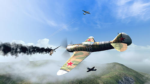 Screenshots of the Warplanes: WW2 dogfight game for iPhone, iPad or iPod.