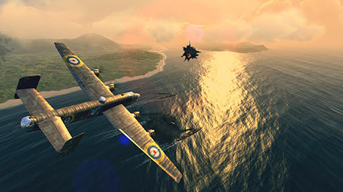Capturas de pantalla del juego Warplanes: WW2 dogfight para iPhone, iPad o iPod.