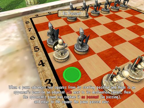 Screenshots of the Warrior chess game for iPhone, iPad or iPod.