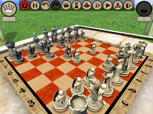 iPhone、iPad 或 iPod 版Warrior chess游戏截图。