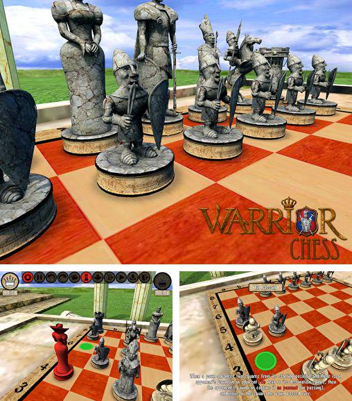 In addition to the game Robots love ice cream for iPhone, iPad or iPod, you can also download Warrior chess for free.