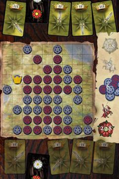 Download Wars of the Roses iPhone free game.