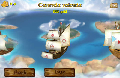 Screenshots of the WarShip game for iPhone, iPad or iPod.