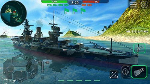 Игра Warships universe: Naval battle для iPhone