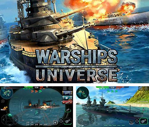 除了 iPhone、iPad 或 iPod 火柴人特工游戏,您还可以免费下载Warships universe: Naval battle, 。