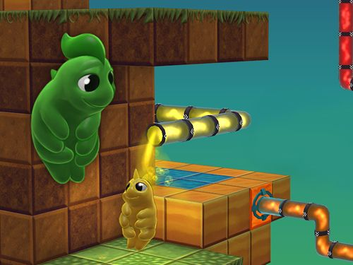 Capturas de pantalla del juego Water bears para iPhone, iPad o iPod.