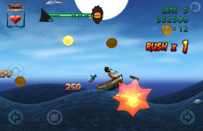Screenshots of the Waves: Survivor game for iPhone, iPad or iPod.