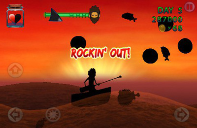 Screenshots vom Spiel Waves: Survivor für iPhone, iPad oder iPod.