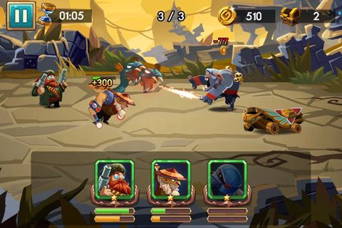 Download We heroes: Born to fight iPhone free game.