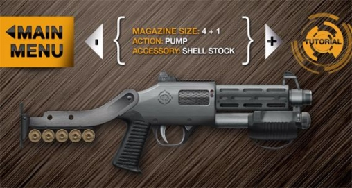 Capturas de pantalla del juego Weaphones: Firearms simulator 2 para iPhone, iPad o iPod.