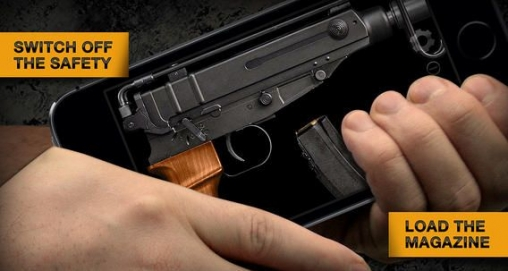 Screenshots vom Spiel Weaphones: Firearms simulator 2 für iPhone, iPad oder iPod.
