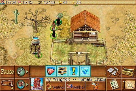 Screenshots of the Westward game for iPhone, iPad or iPod.