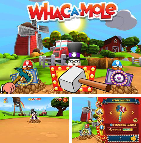 In addition to the game Super Badminton for iPhone, iPad or iPod, you can also download Whac a mole for free.