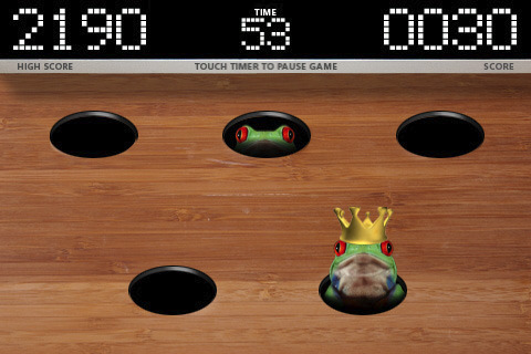 Free Whack it: Frogs download for iPhone, iPad and iPod.