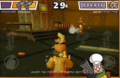 Kostenloser Download von Wheelchair Warriors - 3D Battle Arena für iPhone, iPad und iPod.