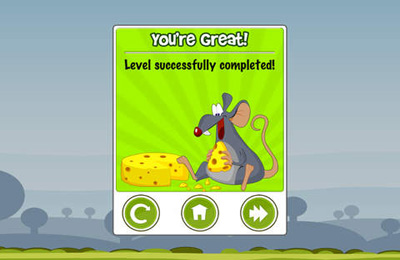 Capturas de pantalla del juego Where's My Cheese? para iPhone, iPad o iPod.