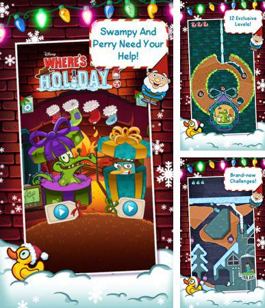 In addition to the game iSlash for iPhone, iPad or iPod, you can also download Where's my holiday? for free.