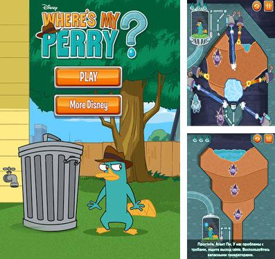 In addition to the game F1 Challenge for iPhone, iPad or iPod, you can also download Where's My Perry? for free.