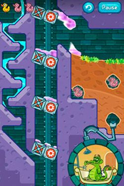 Capturas de pantalla del juego Where's my water? para iPhone, iPad o iPod.