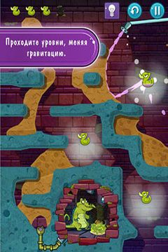 Screenshots of the Where's My Water? 2 game for iPhone, iPad or iPod.