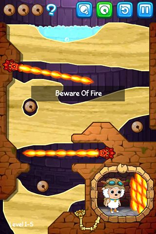 Screenshots of the Where's my water? Featuring Xyy game for iPhone, iPad or iPod.