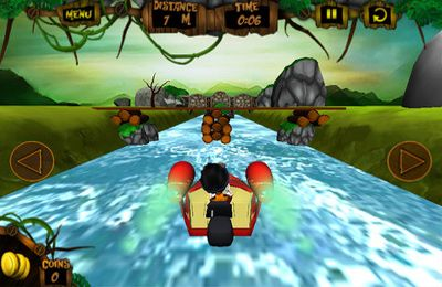 Screenshots vom Spiel White Water Safari für iPhone, iPad oder iPod.