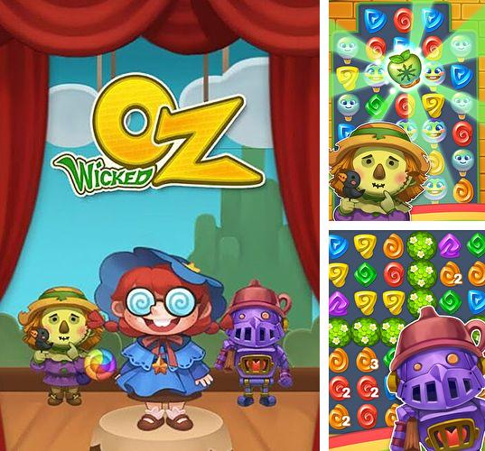 In addition to the game Royal Gems for iPhone, iPad or iPod, you can also download Wicked OZ puzzle for free.
