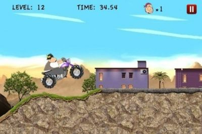 Screenshots do jogo Wild hogs para iPhone, iPad ou iPod.