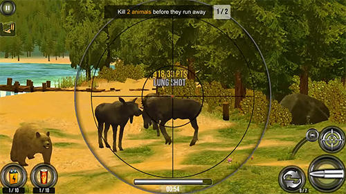 Écrans du jeu Wild hunt: Sport hunting game pour iPhone, iPad ou iPod.