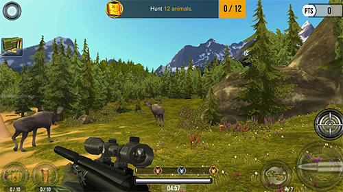 Screenshots of the Wild hunt: Sport hunting game game for iPhone, iPad or iPod.