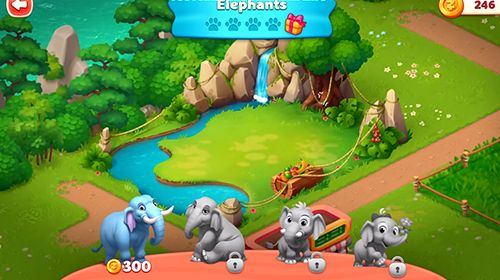 Screenshots do jogo Wildscapes para iPhone, iPad ou iPod.